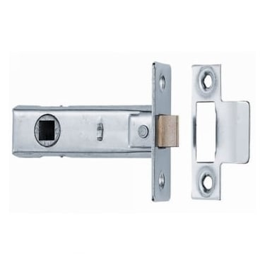Nickel Plated Tubular Mortice Latch