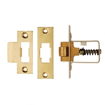 Dale Hardware Polished Brass Heavy Duty Adjustable Roller Catch (DH002228)