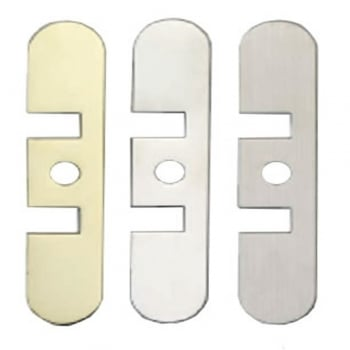 Dale Hardware Polished Brass Hydraulic Jamb Closer Cover Plate (DH002570-PB)