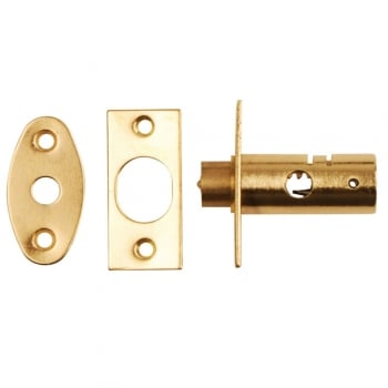 Dale Hardware Polished Brass Mortice Window Bolt (DH00796)