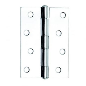 Dale Hardware Polished Chrome 1838 Butt Hinge (Pair)