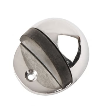 Polished Chrome Oval Door Stop (DH003306)