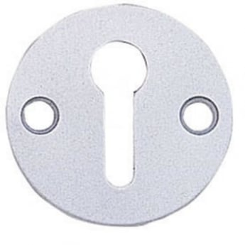 Dale Hardware Satin Anodized Aluminium Open Escutcheon