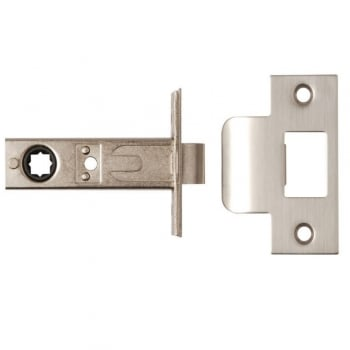 Dale Hardware Satin Stainless Steel Arc Heavy Duty Backset Latch (DH002275)