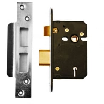 Dale Hardware Satin Stainless Steel BS3621 5 Lever Mortice Sash Lock