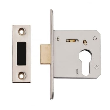 Satin Stainless Steel Euro Profile Mortice Dead Lock Case
