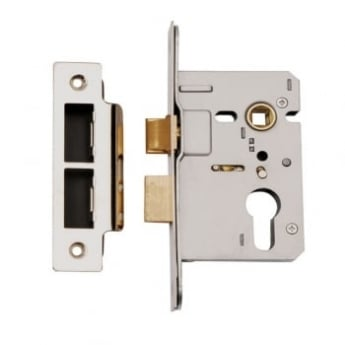 Dale Hardware Satin Stainless Steel Euro Profile Mortice Sash Lock Case