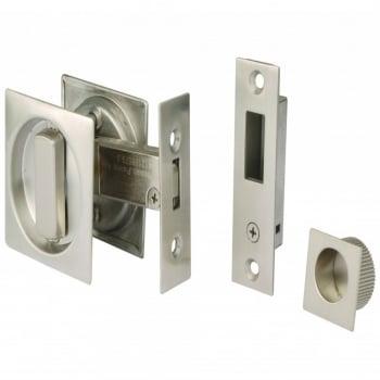 Dale Hardware Square Sliding Door Bathroom Hook Lock