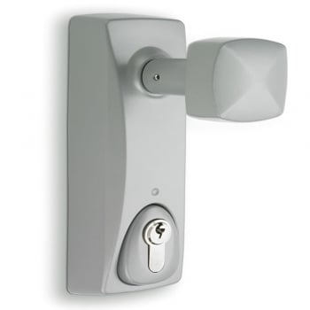 Dale Hardware Silver Outside Access Door Knob (SED990/SE/KN)