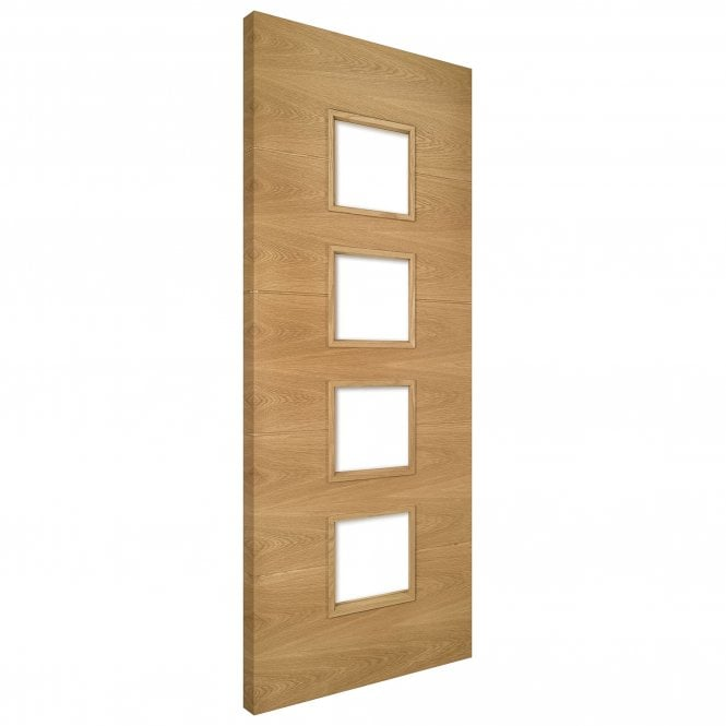 Deanta Augusta Unglazed Pre-Finished Internal Oak Door
