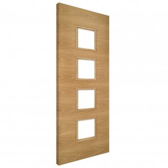 Deanta Augusta Unglazed Pre-Finished Internal Oak FD30 Fire Door
