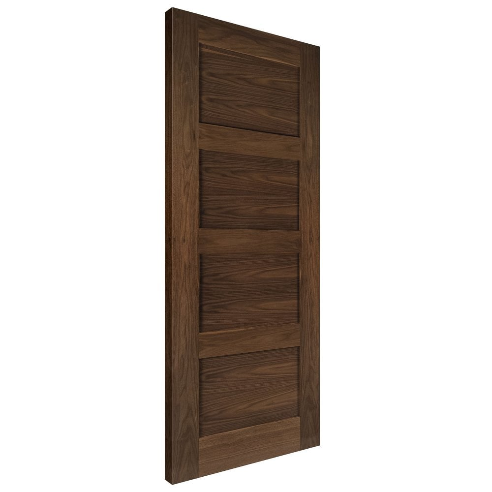 Deanta Internal Walnut Pre Finished Coventry Door Leader