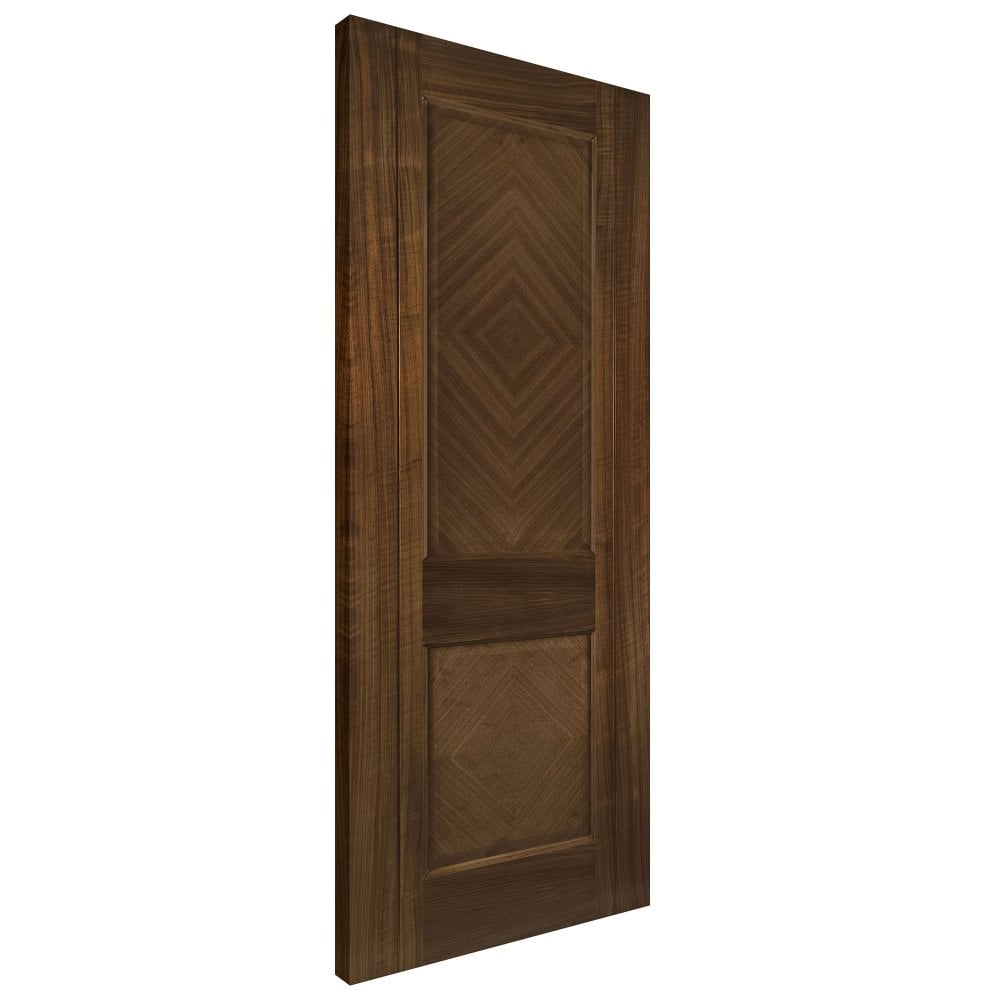 Kensington Fully Finished Internal Walnut Door  sc 1 st  Leader Doors & Deanta Kensington Walnut Fully Finished Panelled Internal Door ...