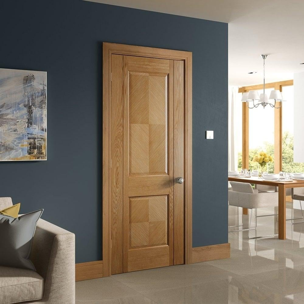 deanta kensington oak pre finished fd30 fire door leader. Black Bedroom Furniture Sets. Home Design Ideas