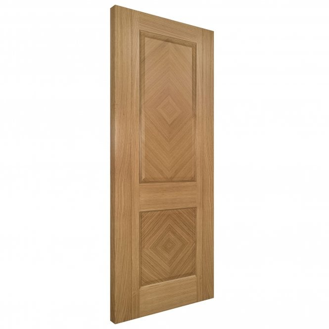Deanta Kensington Pre-Finished Internal Oak FD30 Fire Door