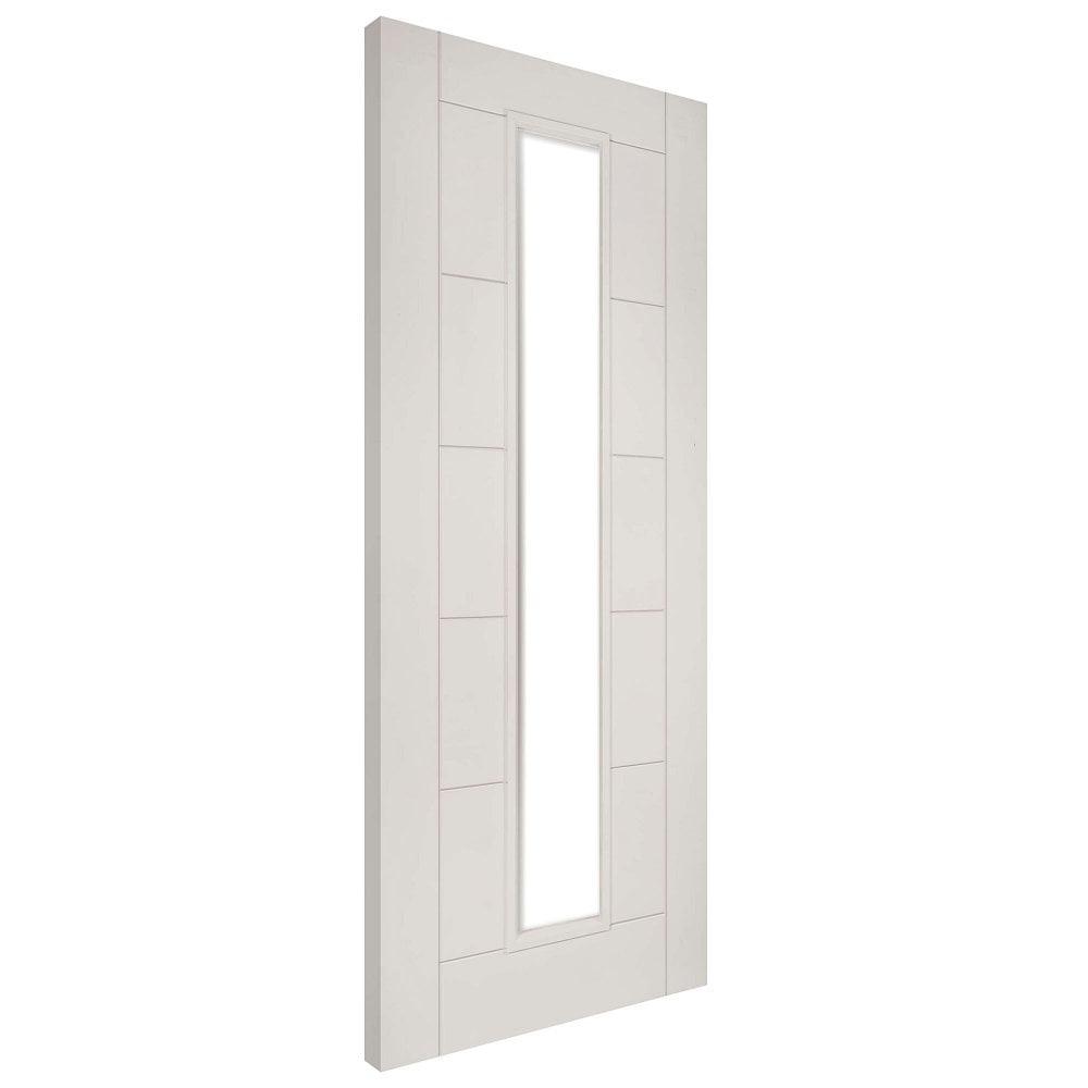 Deanta Seville White Primed Unglazed Internal Door