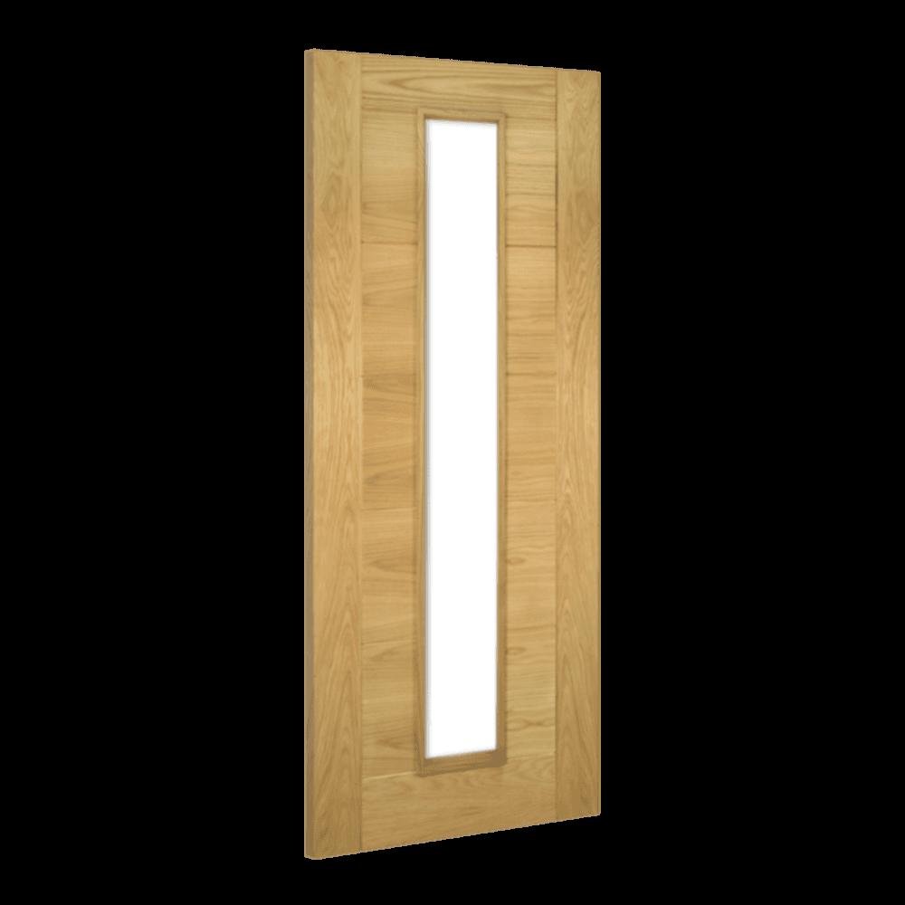 Deanta Seville Oak Fully Finished Unglazed Internal Door