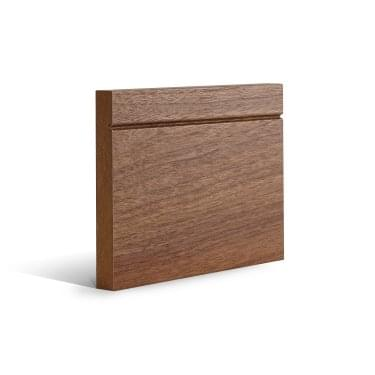 Walnut Fully Finished Shaker Skirting Set (SKWLSH)