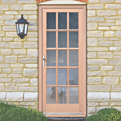 External Hemlock Doors