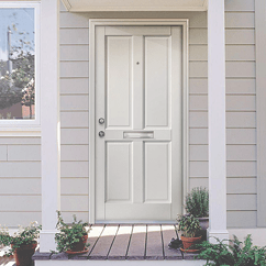 External White Doors