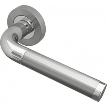 Designer JV430PCSC Twin Finish Lever on Rose Handle