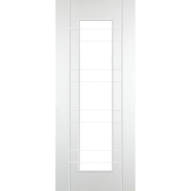 DoorSmart Salo White Primed FD30 Fire Door Leader Doors