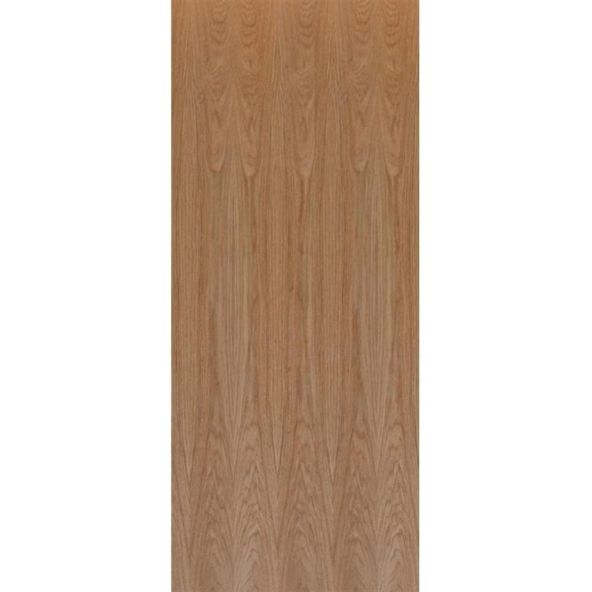 Doorsmart basic oak pre finished fd30 flush door leader for Solid flush door