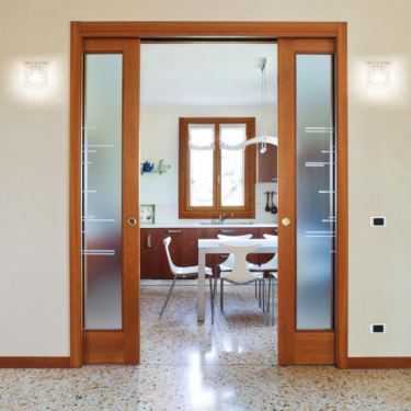 Eclisse Double Sliding Cavity Door System