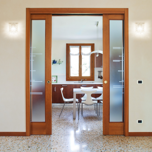 Eclisse Sliding Double Cavity Door System Leader Doors