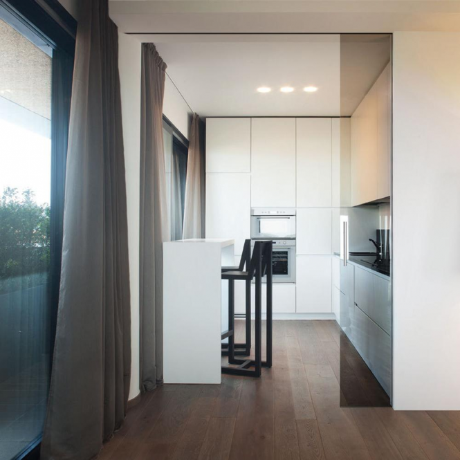 Eclisse Double Syntesis Sliding Cavity Door System