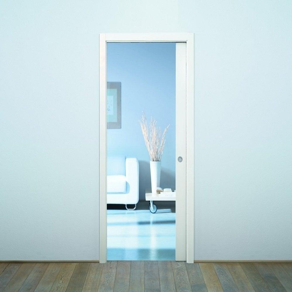 Eclisse Sliding Single Cavity Fire Door System Leader Doors