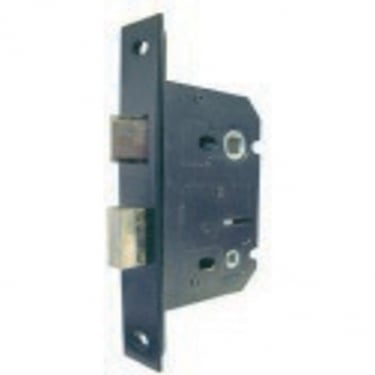 Economy Bathroom Lock, Antique Black (JL154BL)