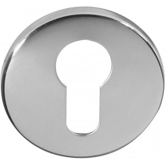 Frelan Hardware Euro JV575ESC Satin Chrome Round Key Escutcheon