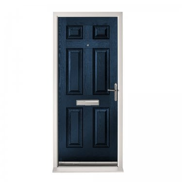 Extermal Blue Colonial Pre-Hung Composite Door Set (CDSCOL-CDSBLUE)