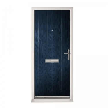 Extermal Blue Suffolk Pre-Hung Composite Door Set (CDSSUF-CDSBLUE)