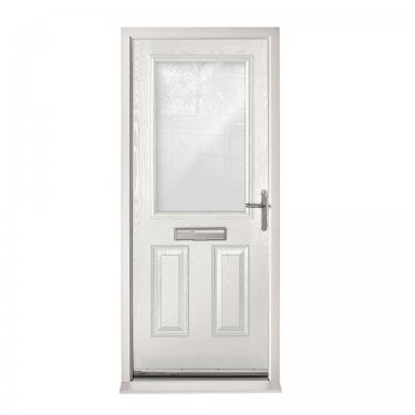 Extermal White 2XG Pre-Hung Composite Door Set with Clear Glass (CDSXGCLR-CDSWHITE)