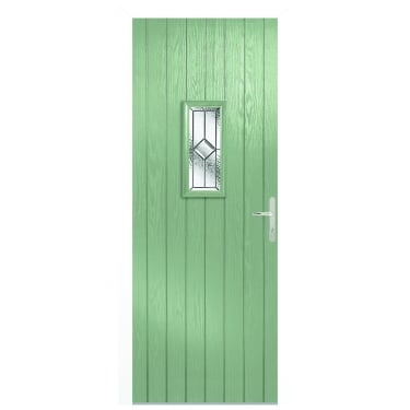 External Chartwell Composite Speedwell Door with White Frame