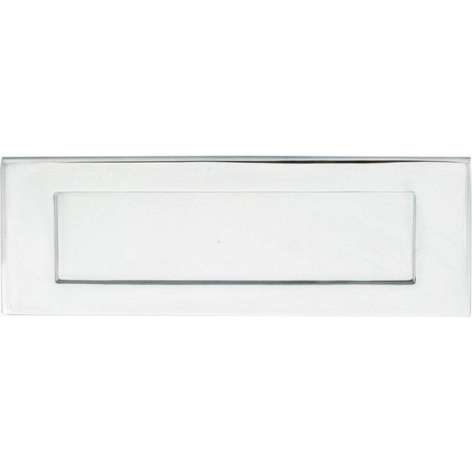Carlisle Brass External Classical Polished Chrome Plain Letter Plate