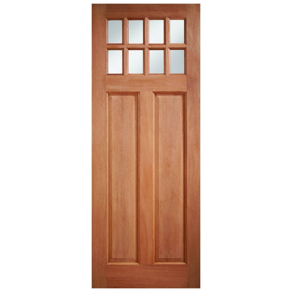 Lpd Doors External Hardwood Unfinished Chigwell 8l Door