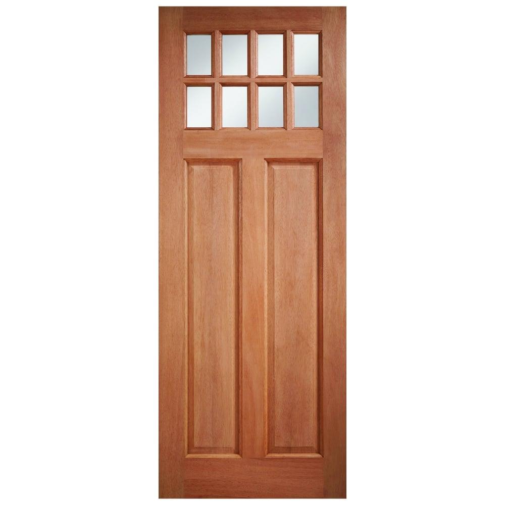 Lpd Doors External Hardwood Unfinished Chigwell 8l Door