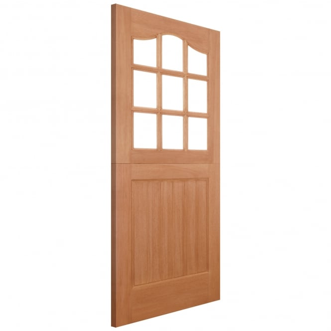 LPD Doors External Hardwood Stable 9L Unglazed Door (DOWEL)