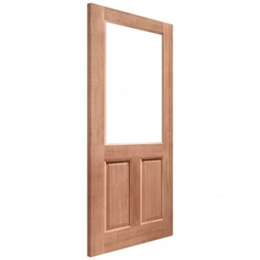 External Hardwood Unfinished 2XG 1L Unglazed Door (MTXG2P)