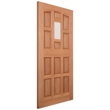 External Hardwood Unfinished Elizabethan 1L Unglazed Door (LIZ3)