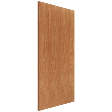 External Hardwood Unfinished Fire Check Blank Brazil Unlipped FD60 Fire Door (DB1MAHUL)