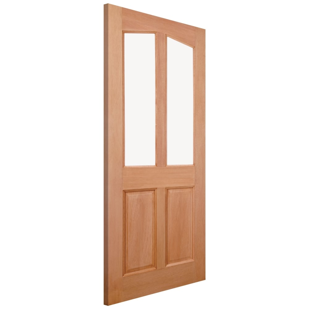 External Hardwood Unfinished Richmond 2L Unglazed Door (MTRIC)
