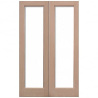 LPD Doors External Hemlock Pattern 20 Unglazed Pair Door