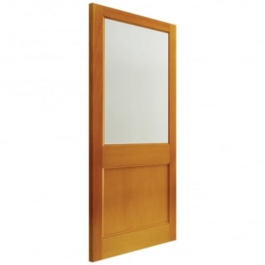 External Hemlock Unfinished 2XG 1L Unglazed Door (D2XG2)