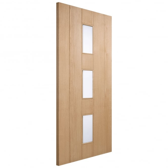 LPD External Oak Unfinished Copenhagen Door