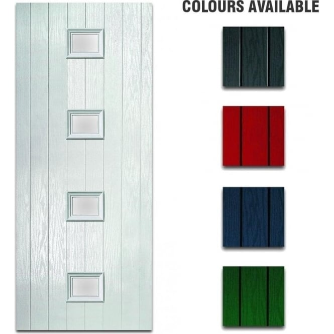XL Joinery External Pre-Hung Siena Composite Doorset