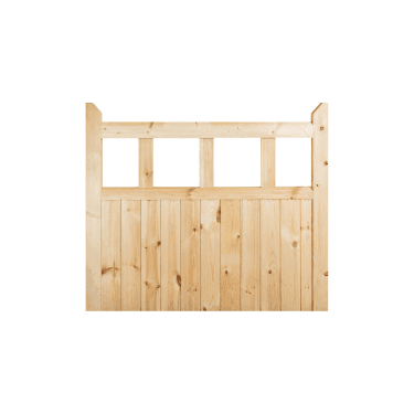 External Redwood Unfinished Garden Gate (RGATE)